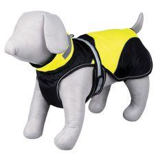 Safety Flash fekete-sárga kutyakabát világítással, XS 30 cm