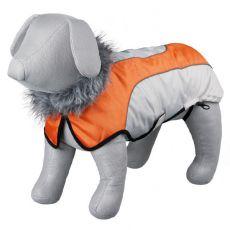 Trixie Laval bézs-narancssárga kabát, L 62 cm