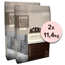 Acana Heritage Light & Fit 2 x 11,4 kg