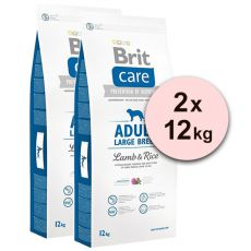 Brit Care Adult Large Breed Lamb & Rice 2 x 12kg