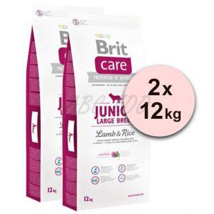 Brit Care Junior Large Breed Lamb & Rice 2 x 12kg