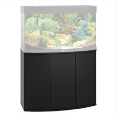 JUWEL Vision 180, fekete akváriumi bútor, 92x41x73
