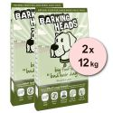 Barking Heads Big Foot Bad Hair Day 2 x 12 kg