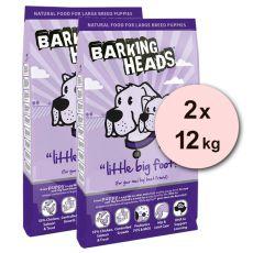 Barking Heads Little Big Foot 2 x 12 kg
