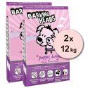 Barking Heads Puppy Days 2 x 12 kg