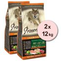 Primordial GF ADULT - csirke és lazac 2 x 12 kg