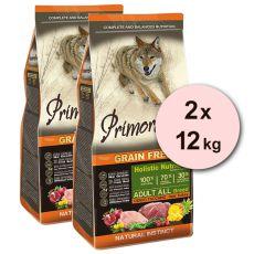 Primordial GF Adult Deer & Turkey 2 x 12 kg