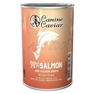 Canine Caviar SALMON Grain Free konzerv, 375 g