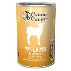 Canine Caviar LAMB Grain Free konzerv, 375 g