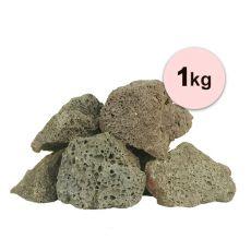 Black Volcano Stone S vulkanikus eredetű kő akváriumba – 1 kg