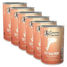 Konzerva Canine Caviar SALMON Grain Free 6 x 375 g