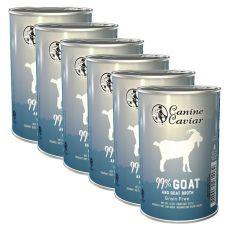 Canine Caviar GOAT Grain Free konzerv 6 x 375 g