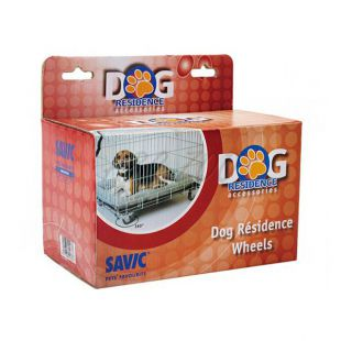 Pót kerekek Dog Residence ketrecekre