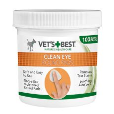 VET´S BEST törlőkendő a kutyák szemének tisztítására, 100 db