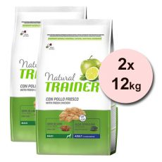Trainer Natural Adult Maxi, csirke 2 x 12 kg