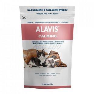 ALAVIS CALMING kutyáknak és macskáknak, 30 tabletta