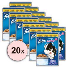 Felix Junior - csirkehús zselében, 20 x 100 g