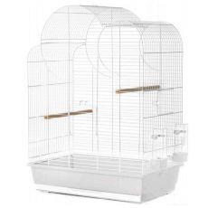 ELIZA papagájkalitka, fehér - 54 x 34 x 75 cm