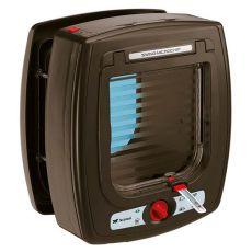 Swing Microchip macskaajtó, barna 22,5 x 16,2 x 25,2 cm