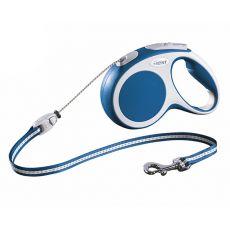 Flexi Vario S póráz 12 kg-ig, 5 m kötél - kék