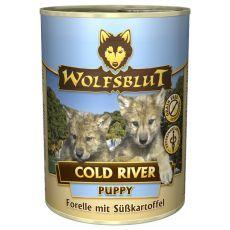 WOLFSBLUT Cold River PUPPY konzerv, 395 g