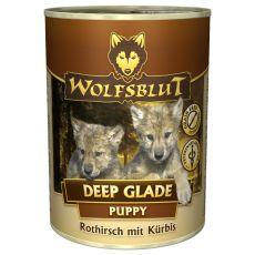 WOLFSBLUT Deep Glade PUPPY konzerv, 395 g