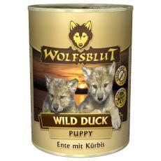 WOLFSBLUT Wild Duck PUPPY konzerv, 395 g