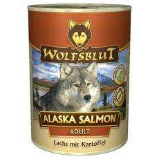 WOLFSBLUT Alaska Salmon konzerv, 395 g