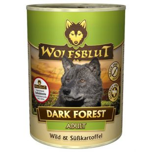 WOLFSBLUT Dark Forest konzerv, 395 g