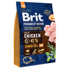 Brit Premium by Nature Senior Small és Medium 3 kg