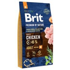 Brit Premium by Nature Adult Medium 8 kg