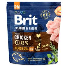 Brit Premium by Nature Senior Small és Medium 1 kg
