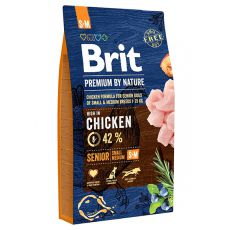 Brit Premium by Nature Senior Small és Medium 8 kg