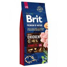 Brit Premium by Nature Senior Large és Extra Large 15 kg