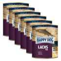 Happy Dog Pur - Lachs 6 x 800 g / lazac, 5+1 GRÁTISZ