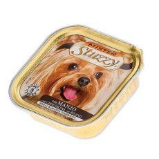 Alutálka Mister STUZZY Dog - marhahús, 150g