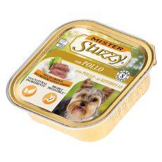 Alutálka Mister STUZZY Dog - csirkehús, 150g
