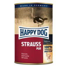 Happy Dog Pur - Strauss 400 g / strucchús