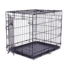 Dog Cage Black Lux ketrec, S - 61,5 x 42,5 x 50 cm
