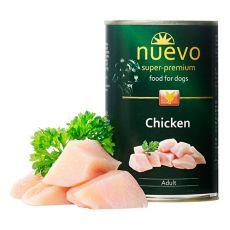 NUEVO DOG Adult Chicken konzerv 400 g