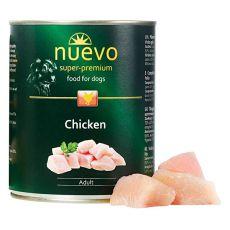 NUEVO DOG Adult Chicken konzerv 800 g