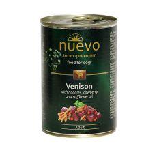 NUEVO DOG Adult Venison Menue konzerv 400 g