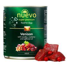 NUEVO DOG Adult Venison Menue konzerv 800 g