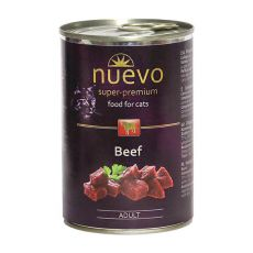 NUEVO CAT Adult Beef konzerv 400 g