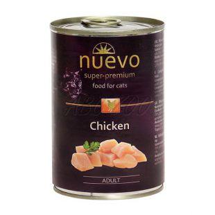 NUEVO CAT Adult Chicken konzerv 400 g
