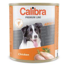 CALIBRA Premium Adult konzerv - csirkehús, 800 g