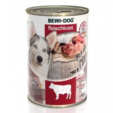 New BEWI DOG konzerv – Marhahús, 400 g