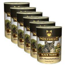 WOLFSBLUT Black Marsh PURE konzerv, 6 x 395 g