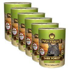 WOLFSBLUT Dark Forest konzerv, 6 x 395 g
