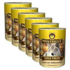 WOLFSBLUT Gold Fields konzerv, 6 x 395 g